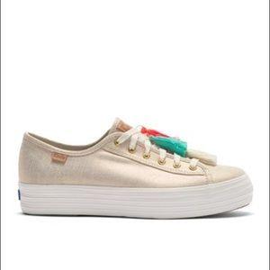 0b4bf9a2bf98 Keds Shoes - Keds Triple Kick Tassel Platform Sneaker NWT